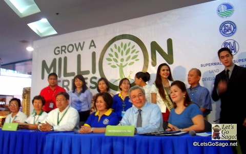 SM Grow A Million Trees by 2018