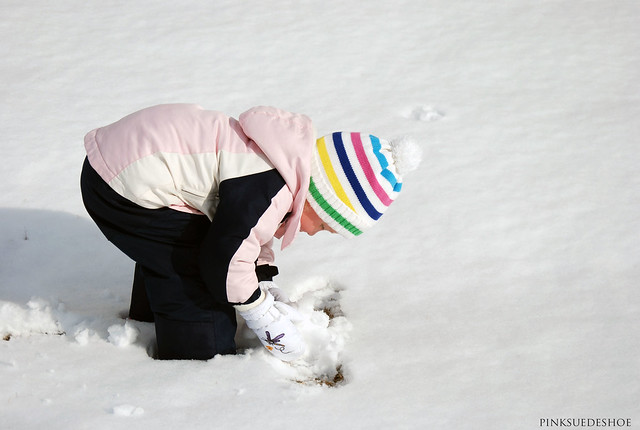 making snowballs