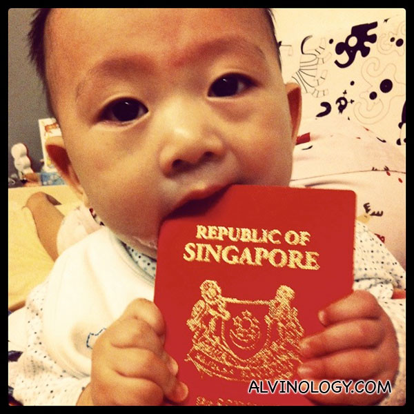 Singapore boy, Asher