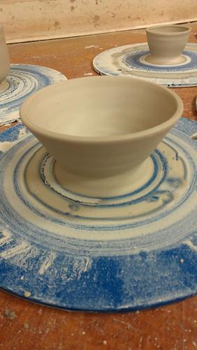 Unglazed bowl