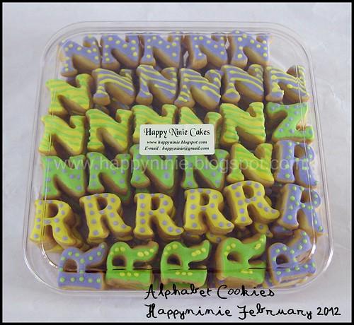 cookies alphabet