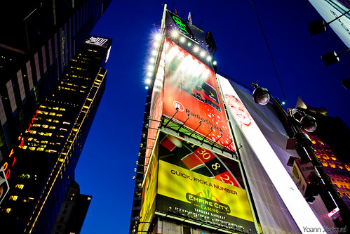 New York City - Times Square by night,Symbol of NYC, USA by Zeeyolq Photography