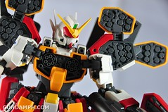 MG 1-100 Gundam HeavyArms EW Unboxing OOTB Review (89)