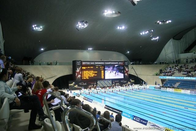 Swimming Finals - 9th March 2012 - Aquatics Centre 175