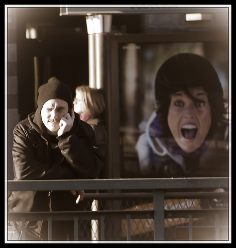 81/366 - Screaming by Flubie