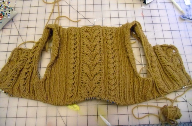 Agatha sweater - right side