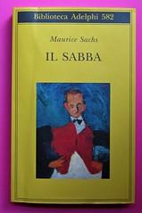 Maurice Sachs, Il Sabba, Adelphi 2011. [Resp. grafica non indicata]. Copertina (part.), 1