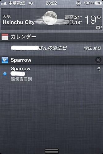 Sparrow Push