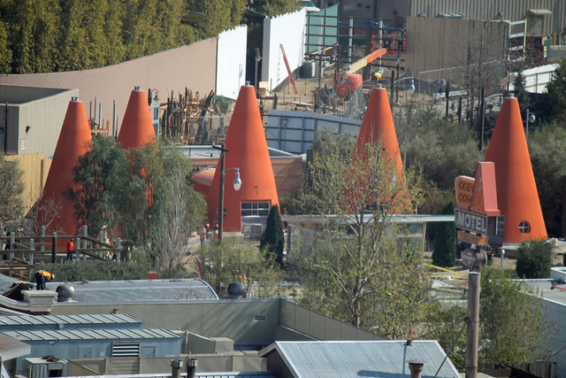 Progress on Cars Land - 2/24/2012