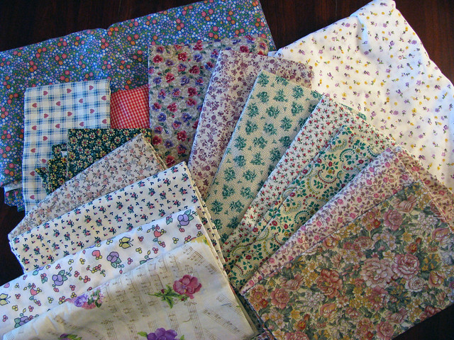 Gift Fabric for a Charity Quilt