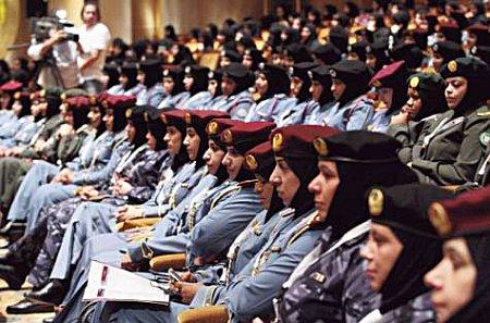 12b27 Mujeres policías Abu Dhabi Primera asociación mujeres policías musulmanas