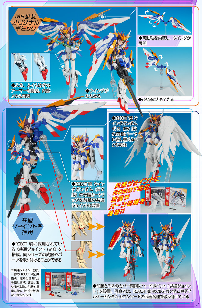 Armor Girls Project Mobile Suit Girl Gundam Wing EW (Kai) (5)