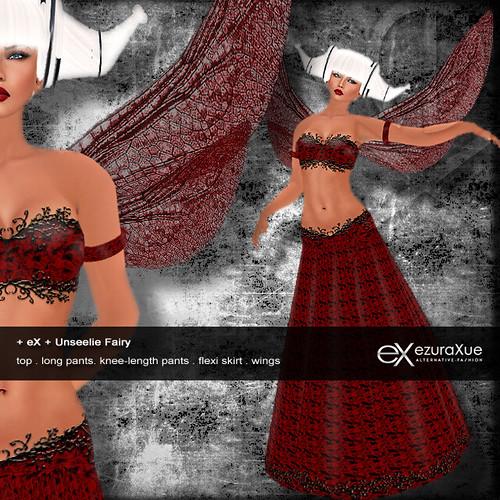 + eX + Unseelie Fairy *Red