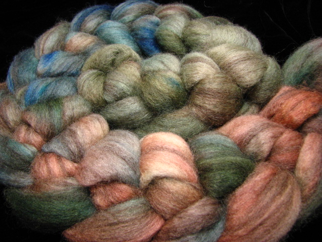 Verdigris - Gradient Dyed Mixed BFL Top