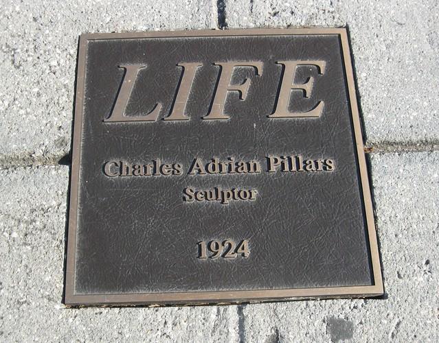 LIFE Sculpture Plaque