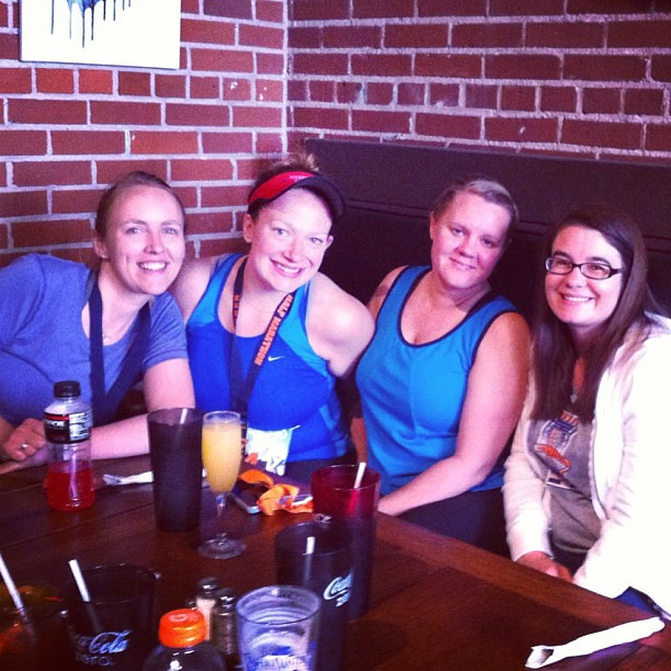 Post-race celebration brunch (@brunbec, @jjenniac, @kkennin)