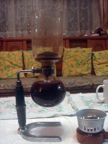 虹吸式咖啡_第一次4