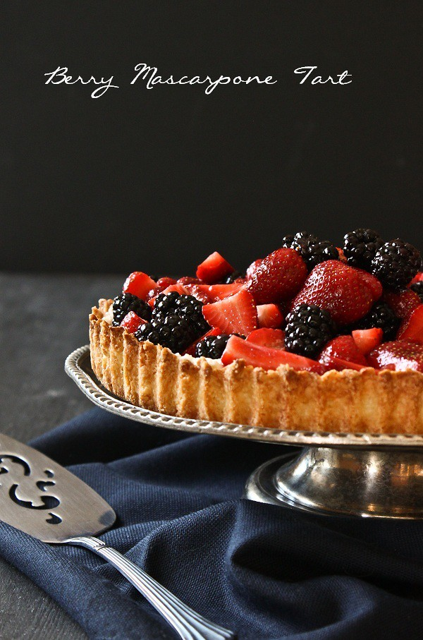 Berry Mascarpone Tart