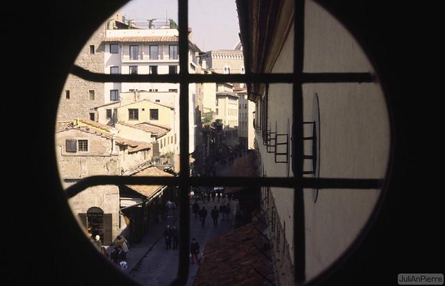 Firenze, Corridor de Vasari