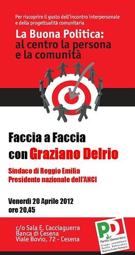 """""""FACCIA A FACCIA CON GRAZIANO DELRIO"""""""