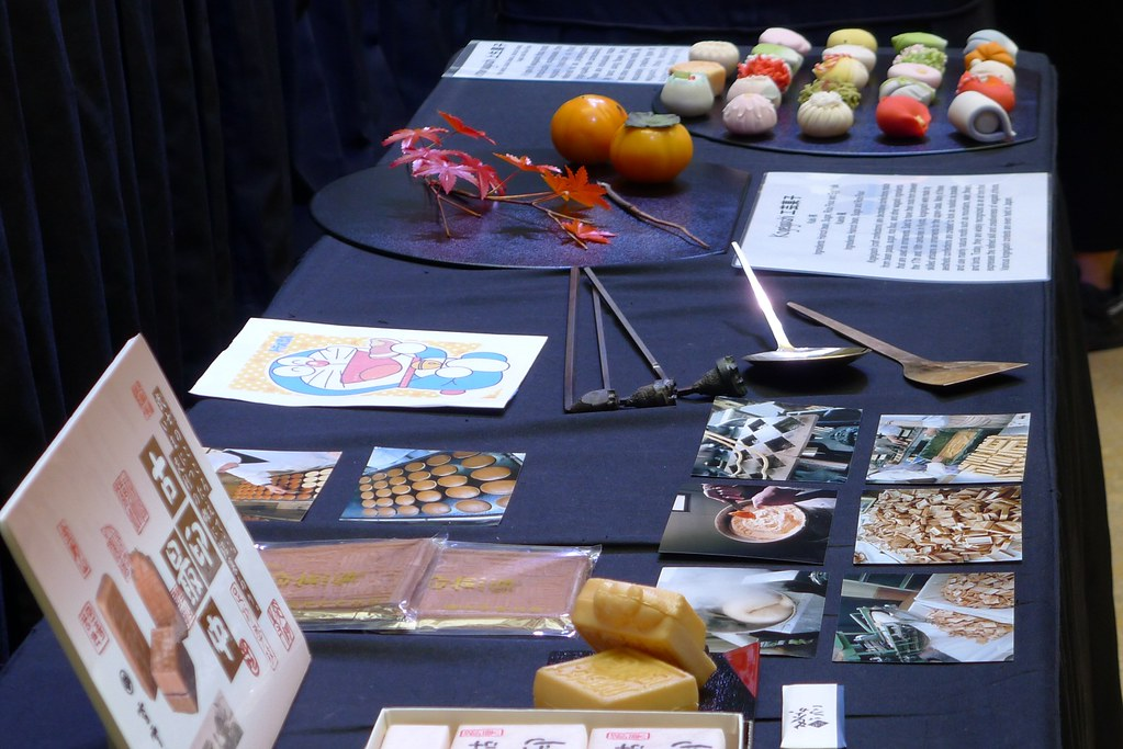 2012 Nihongo Fiesta Wagashi Demonstration Event Mini-Report