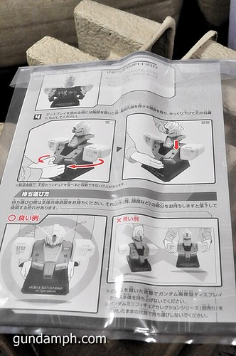 MSG RX-78-2 Bust Type Display Case (Mobile Suit Gundam) (12)
