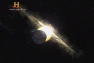 Alineamiento galáctico. El Sol atravesará el ecuador galáctico, cosa que sucede cada 13 mil años.