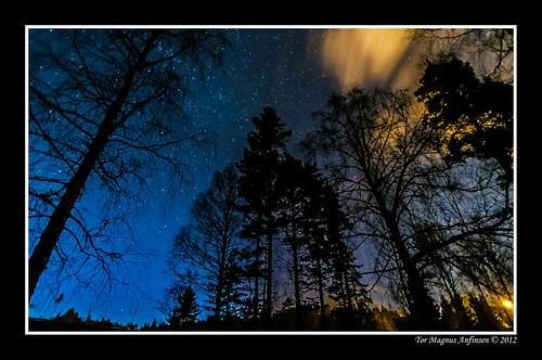 Kongsberg Night-1 by Tor Magnus Anfinsen