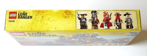 The Lone Ranger 79108 Stagecoach Escape box03