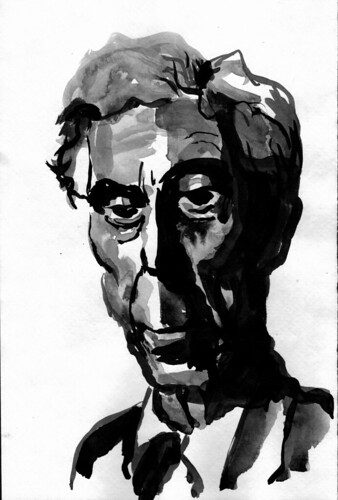 Bertrand Russell by husdant
