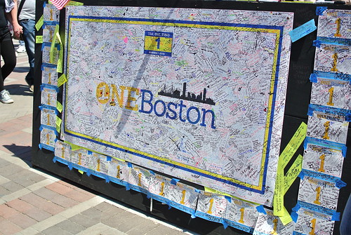 One Boston, inscribed