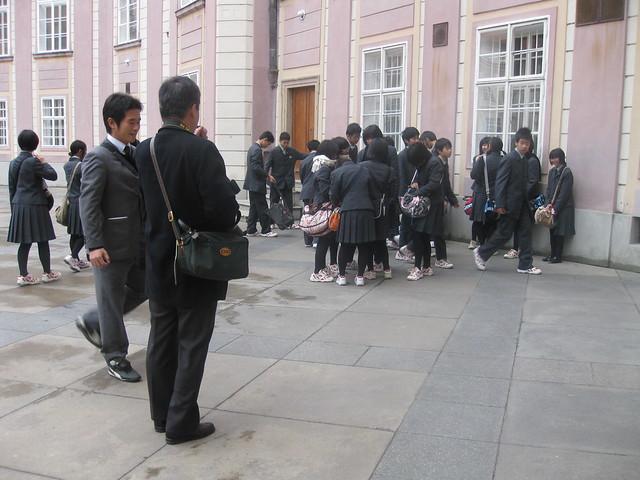 Japanese school trip