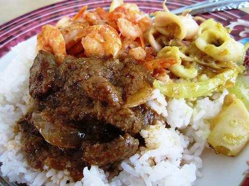 ChoonSeng nasi campur - beef liver