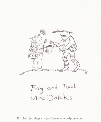 Frog and Toad are Daleks
