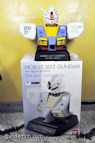 MSG RX-78-2 Bust Type Display Case (Mobile Suit Gundam) (50)