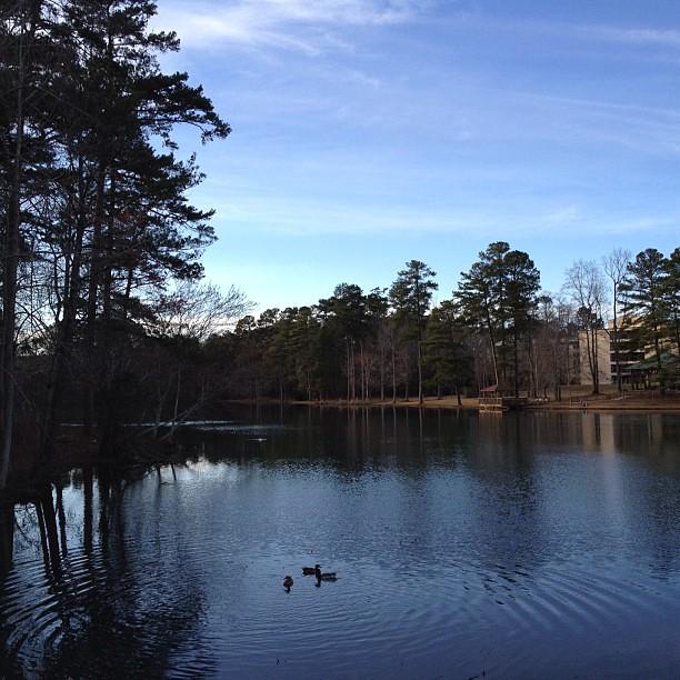 Pretty Lake Today (no filter)