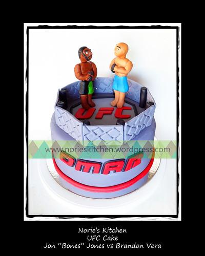 Norie's Kitchen - UFC Cake by Norie's Kitchen