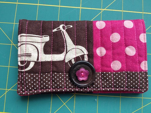 Snap Pouch Tutorial Finished Pouch