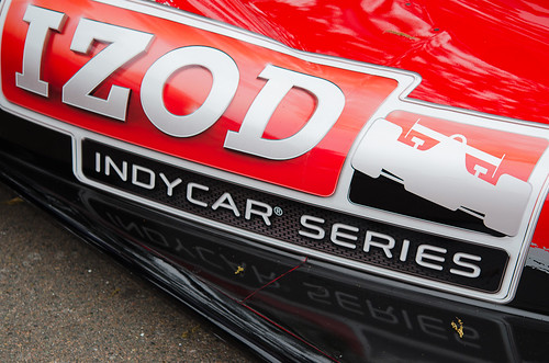 New Indy Car - #IZOD #IndyCar Series Decal at Track Launch #GPSTPETE