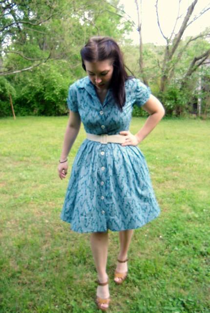 Shirtwaist Dress - with petticoat