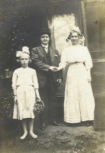 1900s - Unknown Wedding