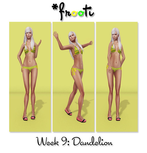 Frooti 52 WoC - Dandelion