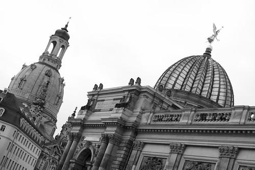 Frauenkirche und Kunsthochschule
