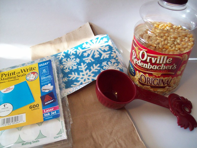 make your own microwave popcorn