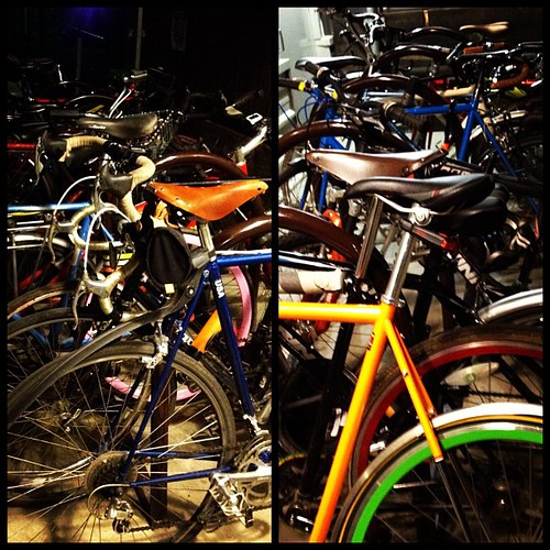 Lots of Bicycles