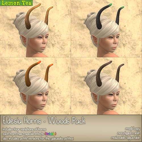 Eldesia Horns - Woods Pack