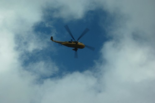 20110924-19_Rescue Helicopter above Sty Head by gary.hadden