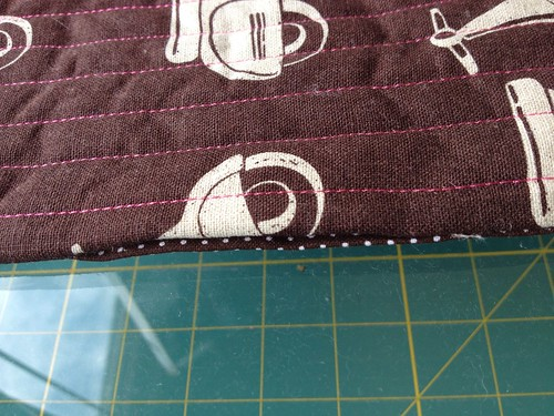 Snap Pouch Tutorial Folded Opening