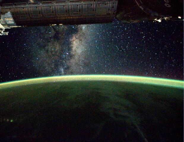 De Melkweg. Ook te aanschouwen tijdens de nationale sterrenkijkdagen (en een heldere hemel...)