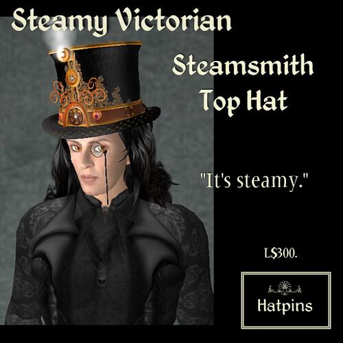 Steamy Victorian - Steamsmith Top Hat Advert 1